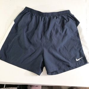 Nike dry fit navy shorts